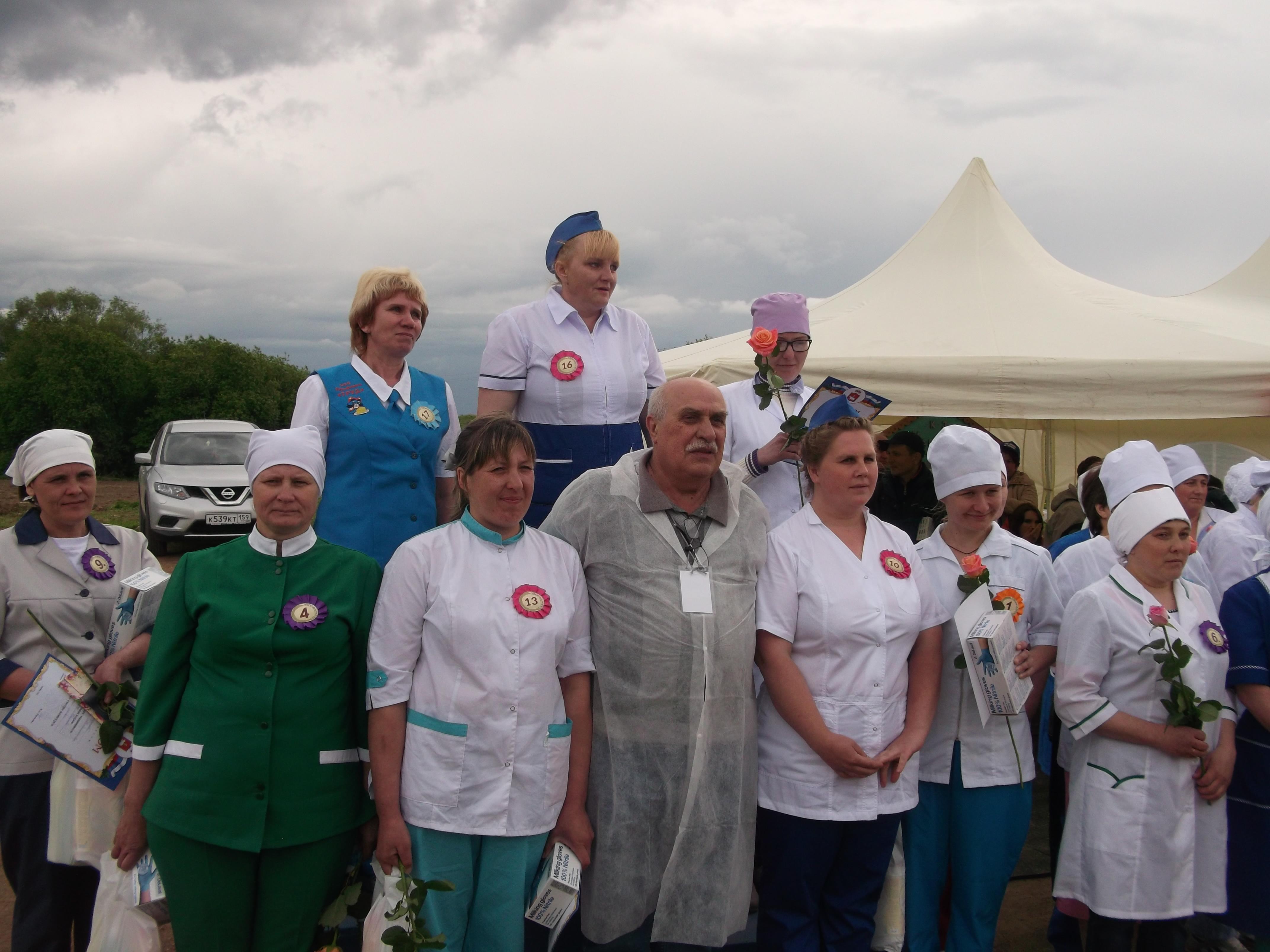 Завершился 37-й областной (6-й краевой) конкурс операторов машинного доения коров